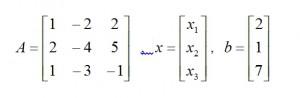 連立方程式を解く