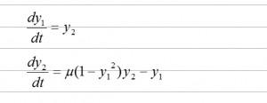 微分方程式 ode